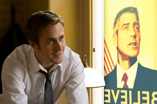LES MARCHES DU POUVOIR de George Clooney, ryan gosling, philip seymour hoffman, rachel evan wood, cinema