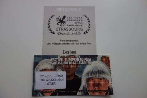 festival europÉen du film fantastique de strasbourg 2015 - chapi