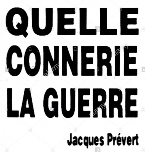 badge-sold-during-gulf-war-quote-jacques-prvert-quelle-connerie-la-CW8TR7.jpg