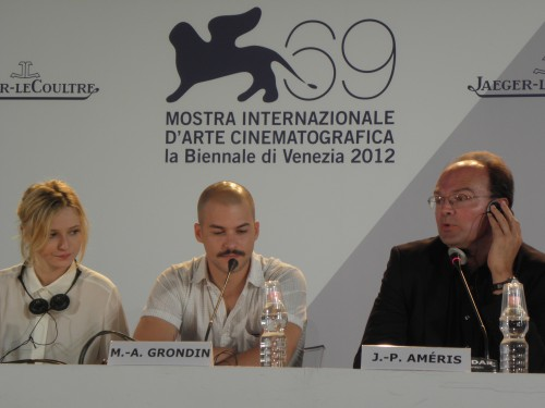 MOSTRA DEL CINEMA 2012, cinéma, L'homme qui rit, Jean-Pierre Améris,
