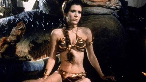 carrie fisher,princesse leia