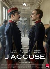 J'ACCUSE de Roman Polanski, cinéma, Jean Dujardin, Louis Garrel, Emmanuelle Seigner, Grégory Gadebois