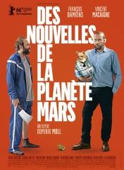DES NOUVELLES DE LA PLANÈTES MARS de Dominik Moll, François Damiens, Macaigne, Veerle Baetens, cinéma