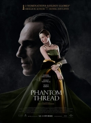 PHANTOM THREAD de Paul Thomas Anderson, cinéma,
