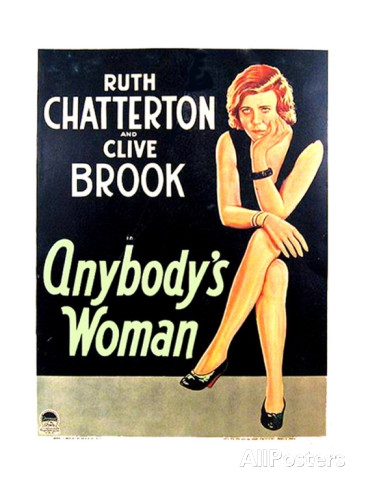 anybody's woman de dorothy arzner,ruth chatterton,clive brook,cinéma,lumière 2016