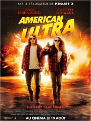 AMERICAN ULTRA de Nima Nourizadeh , cinéma, Jesse Heisenberg, Kristen Stewart, Topher Grace, cinéma
