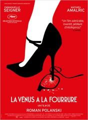LA VENUS A LA FOURRURE de Roman Polanski, emmanuelle seigner, mathieu amalric, cinéma