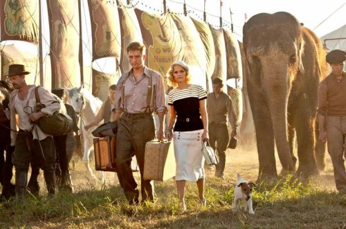 DE L'EAU POUR LES ELEPHANTS de Francis Lawrence, robert pattison, reese whiterspoon, christoph waltz, cinma