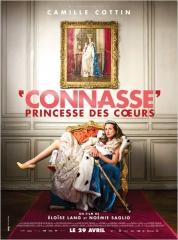 CONNASSE, PRINCESSE DES COEURS de Noémie Sagrio et Eloïse Lang , Camille Cottin, cinéma