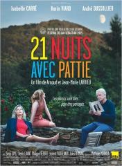 21 NUITS AVEC PATTIE de Jean-Marie et Arnaud Larrieu, Isabelle Carré, Karin Viard, André Dussolier, Denis Lavant, cinéma
