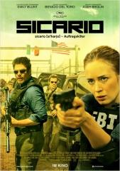 SICARIO de Denis Villeneuve , Emily Blunt, Benicio Del Toro, Josh Brolin, cinéma