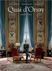 QUAI D'ORSAY de Bertrand Tavernier, thierry lhermite, raphaël personnaz, niel arestrup, bruno rafaëli, marie bunel, julie gayet, cinéma