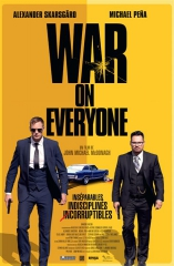 war on everyone de john michäel mcdonagh,cinéma,festival beaune 2017