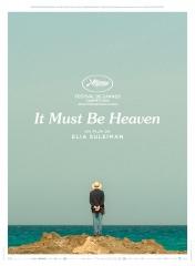 IT MUST BE HEAVEN d'Elia Suleiman, cinéma, Avec Elia Suleiman, Gaël Garcia Bernal, Grégoire Colin