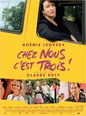 CHEZ NOUS, C'EST TROIS de Claude Duty, cinéma