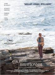 L'HOMME IRRATIONNEL de Woody Allen **, Joaquin Phoenix, Parker Posey, Emma Stones, cinéma