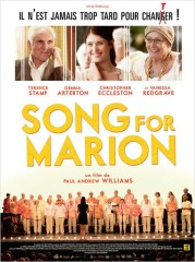 A SONG FOR MARION de Paul Andrew Williams, Terence Stamp, Vanessa Redgrave, Gemma Arterton , cinéma