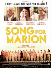 A SONG FOR MARION de Paul Andrew Williams, Terence Stamp, Vanessa Redgrave, Gemma Arterton , cinéma