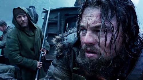 the revenant de alejandro gonzález iñárritu,leonardo dicaprio,tom hardy,domnhal gleeson,cinéma