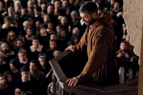 le moine de dominik moll,vincent cassel,catherine mouchet,deborah françois,sergi lopez habillé,cinéma