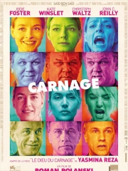 carnage de roman polanski,jodie foster,kate winslet,christoph waltz,john c. reilly,cinéma