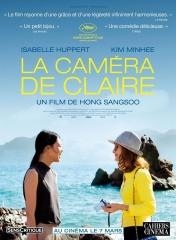 LA CAMERA DE CLAIRE de Hong Sang-Soo , cinéma, EVA de Benoît Jacquot