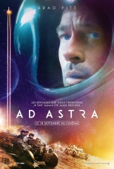 AD ASTRA de James Gray, cinéma, Brad Pittt