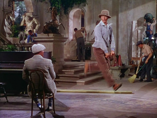 confinement, cinéma, donald o'connor, singing in the rain