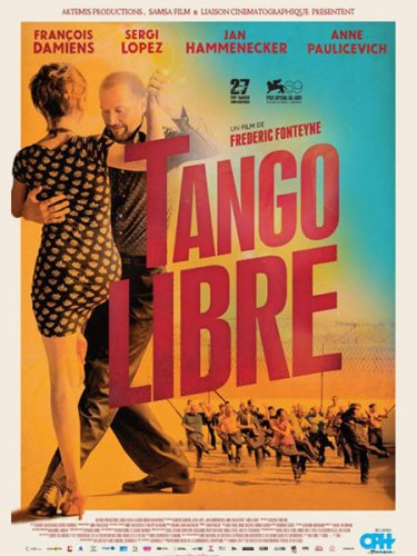TANGO LIBRE de Frédéric Fonteyne,François Damiens, Sergi López, Jan Hammenecker,zacahrie chasseriaud, cinéma