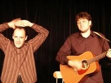 the two men show,mathieu,arnaud,lobo et mie,alexandre pesle,festival,théâtre